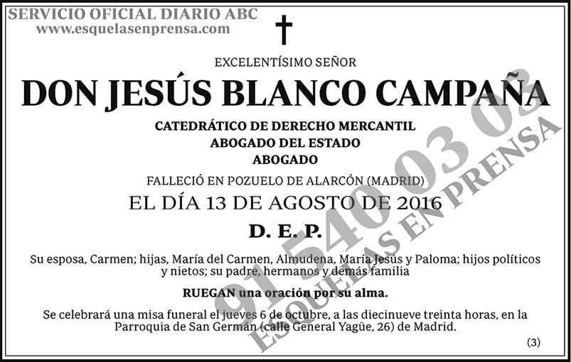 Jesús Blanco Campaña